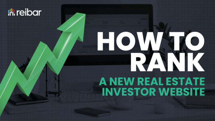 how to rank a brand new real estate investor website