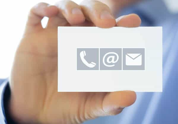 Contact Information Icon for Real Estate SEO