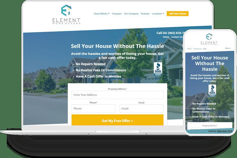 Element Homebuyers screenshot