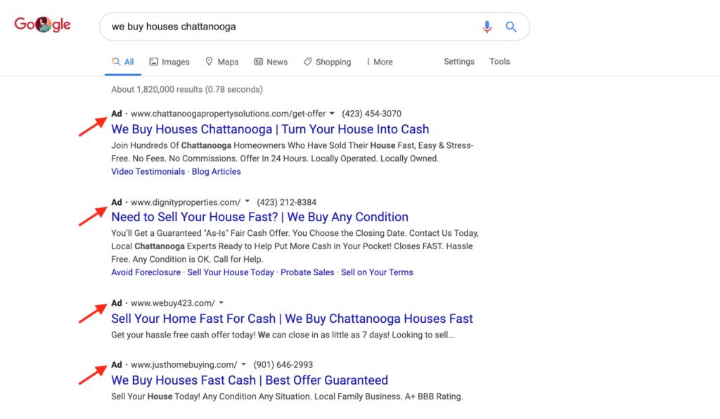 PPC for real estate investors