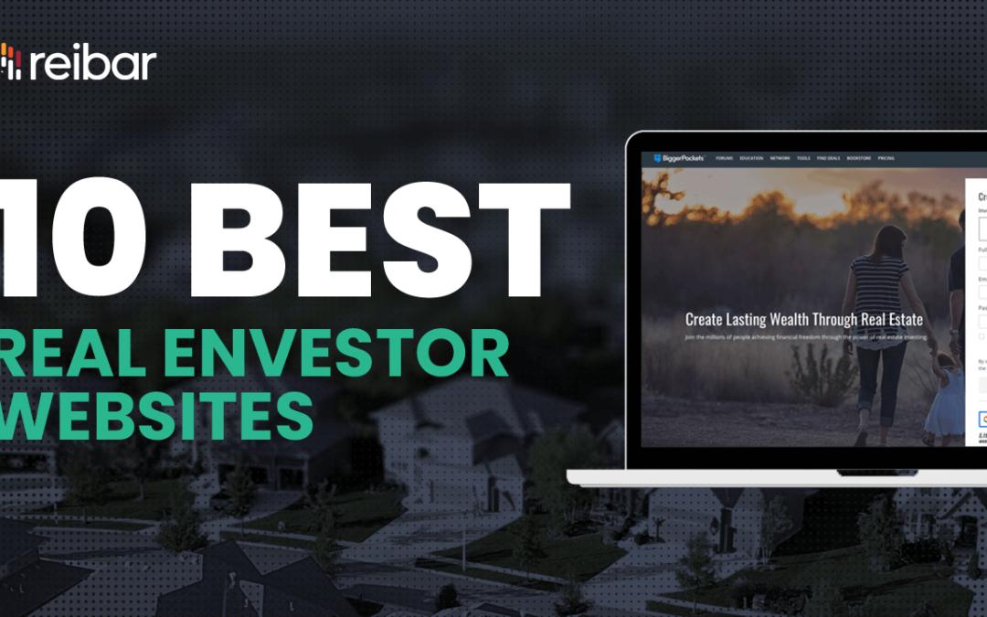 10 Best Real Estate Investor Websites in 2021