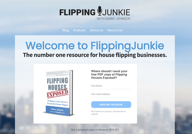 Flipping Junkie blog
