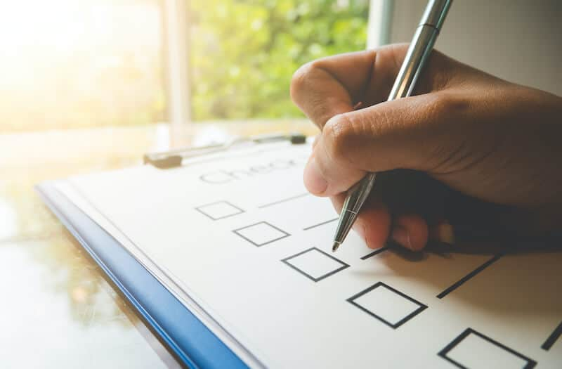 Complete your real estate marketing checklist to ensure future growth